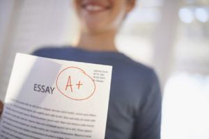 essay that got him an A+