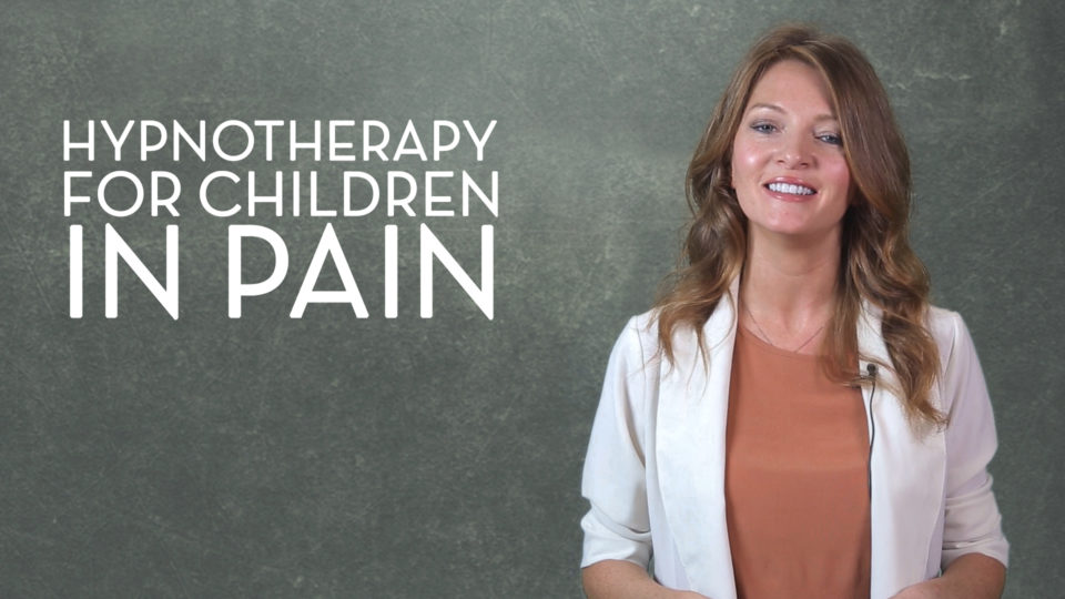 Sasha Carrion's Hypnotherapy for Children in Pain