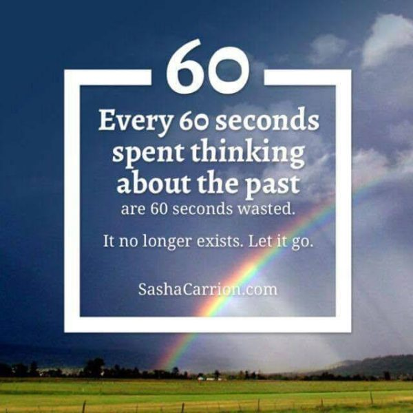 stop thinking about the past