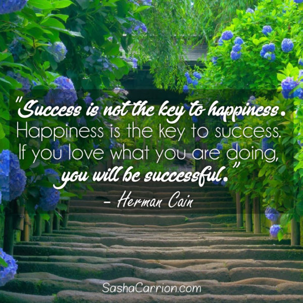 Take Into Account Your Happiness
