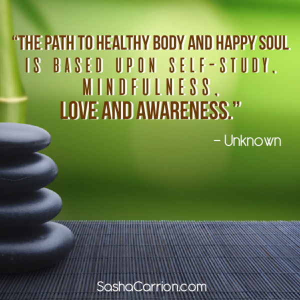 Love and Awareness, the Path to Health and Happiness