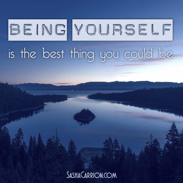 Be Always Yourself