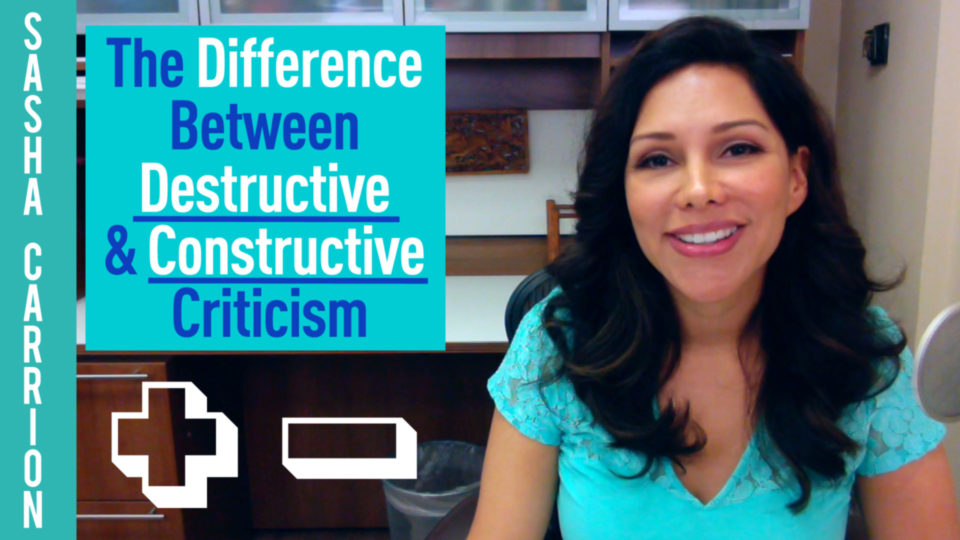 Verbal Abuse: The Differences Between Criticism and Constructive Criticism